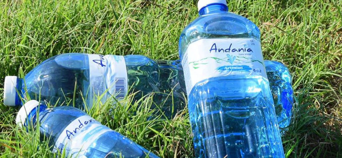 Andania - Bottled water Messinia - Square package