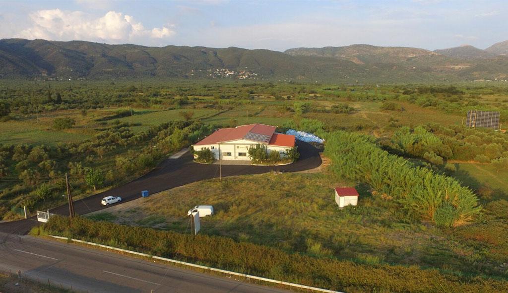Ανδανία - Εμφιαλωμένο Αρτεσιανό νερό Μεσσηνίας - Εργοστάσιο Ergopack