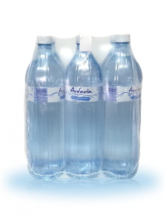 Ανδανία - Εμφιαλωμένο Αρτεσιανό νερό Μεσσηνίας - Συσκευασία 6 x 1,5 lt