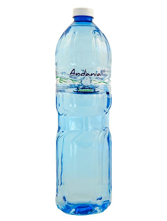 Ανδανία - Εμφιαλωμένο Αρτεσιανό νερό Μεσσηνίας - 1,5 lt