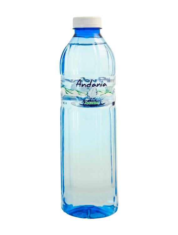 Ανδανία - Εμφιαλωμένο Αρτεσιανό νερό Μεσσηνίας - 500 ml