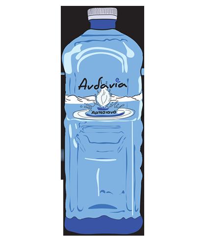 Ανδανία - Αρτεσιανό νερό Μεσσηνίας