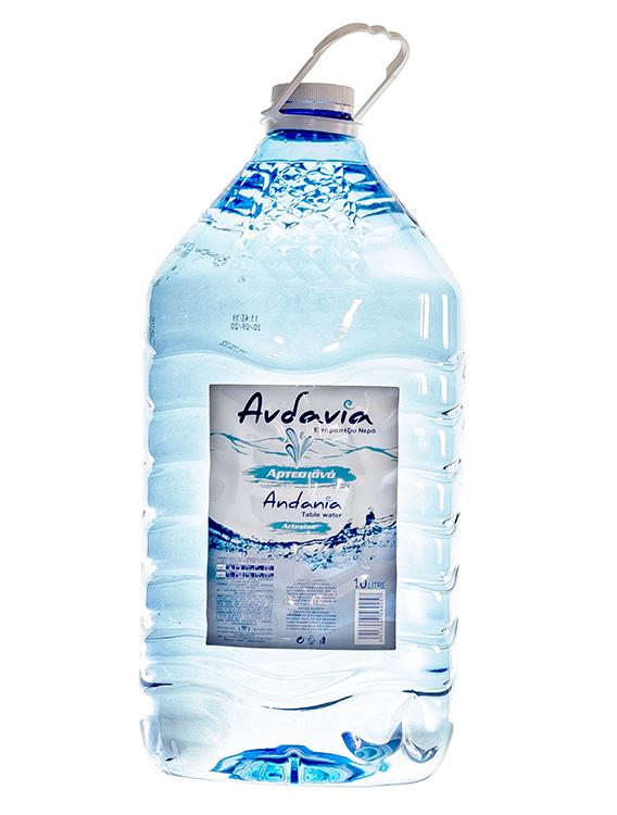 Ανδανία - Εμφιαλωμένο Αρτεσιανό νερό Μεσσηνίας - Συσκευασία 10 lt